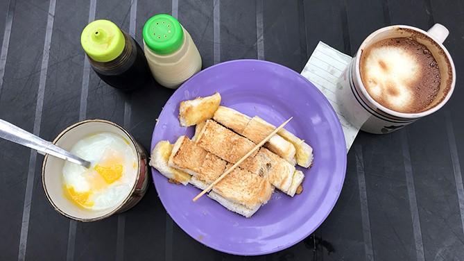 kaya and butter toast