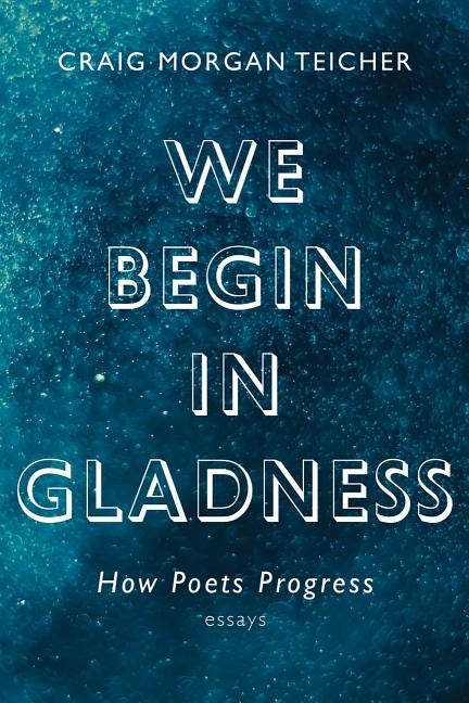 we begin in gladness book cover design