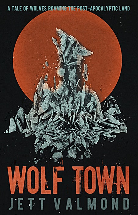 wolf town book cover design