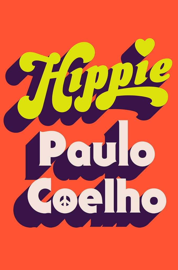 hippie things book cover design