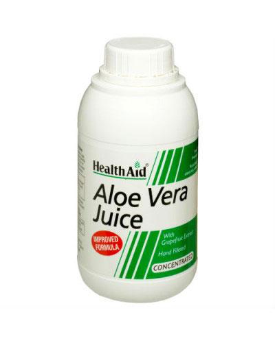 Come depurare il fegato - Succo-Aloe-Vera_HealthAid
