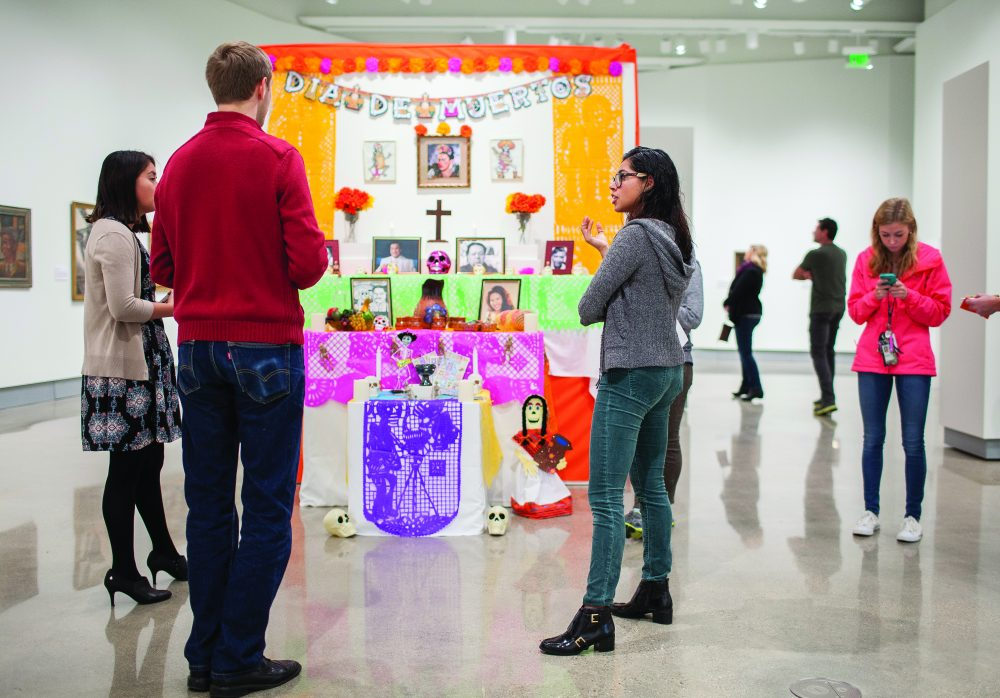 The Kruizenga Art Museum and the Latino Student Organization at Hope College will host a Dia de los Muertos Community Day on Saturday, Nov. 3, at the museum.