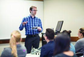 Hope College - Curtis Gruenler's English class and Aaron Franzen's Sociology class, Hope College - Aaron Franzen's Sociology class,