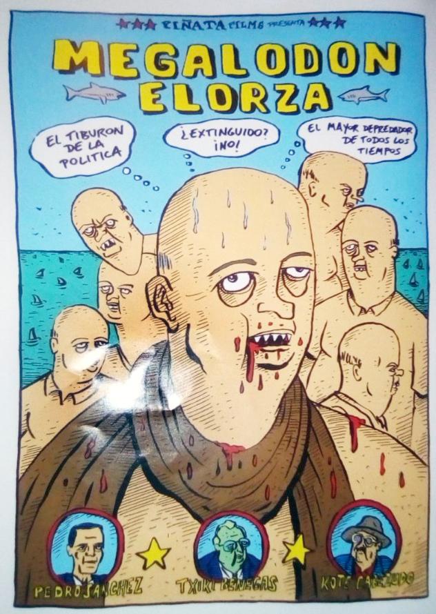 """Odón """"Pinocho"""" Elorza"""