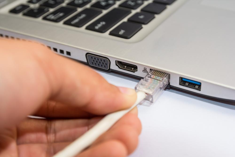 ネットワーク回線速度を確認