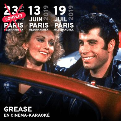 Grease en cinéma-karaoké