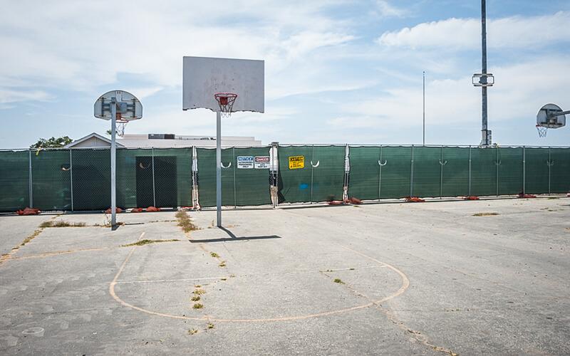 Terrain de basket Venice High School