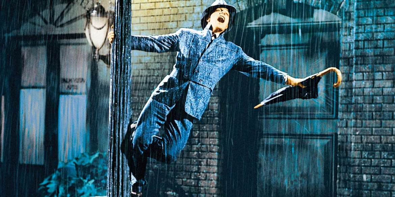 Gene Kelly dans Chantons sous la pluie