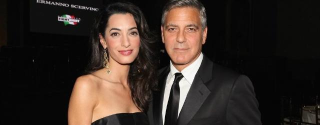 Anniversario di matrimonio: un ristorante per la moglie di Clooney