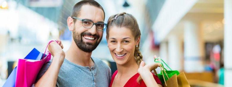 Gli uomini amano lo shopping più delle donne?