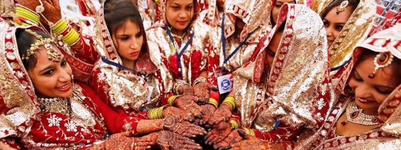 India: mazze di legno alle neo-spose per difendersi dai mariti