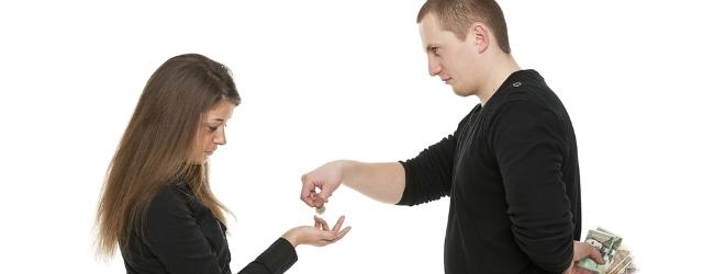 L'amore dura se i conti sono separati?