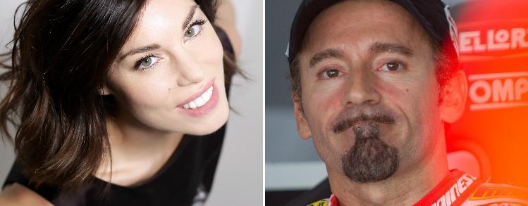 Max Biaggi e Bianca Atzei: un amore e due passioni