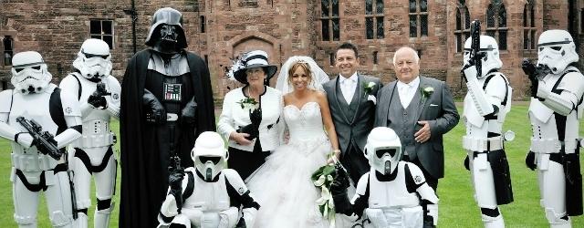 """Rito di nozze alla """"Star Wars"""" legale in Scozia"""