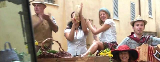 Sexy vendemmia in provincia di Rovigo