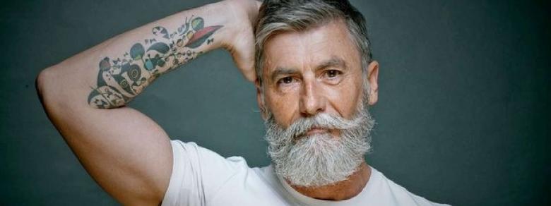 Si Scopre Fotomodello a 60 Anni Grazie alla Barba