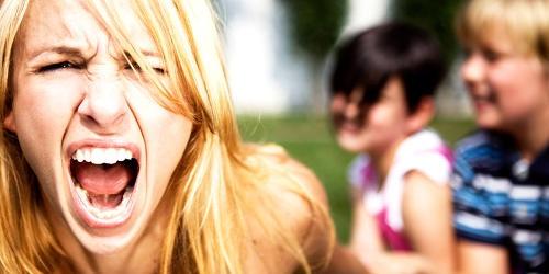come gestire la rabbia verso i figli