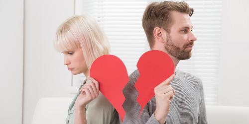 stress da delusione d'amore