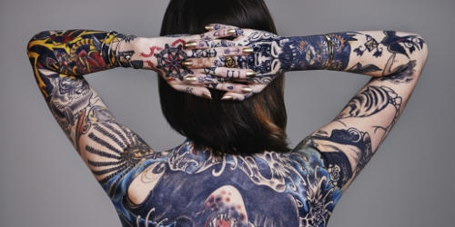 tatuaggi femminili schiena