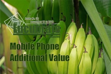Mobile Phone, Additional Value: Lucubrate Magazine, Issue 50, December 21st, 2018