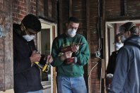 2015: Built homes with Habitat for Humanity and worked at a local food bank in Pittsburgh, Pa.