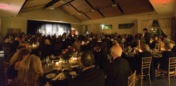 The Kinyon-Koeppel Grand Hall is full of celebration during the program.