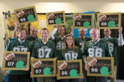 Alumni are honored at the Legends Luncheon during homecoming weekend 2017. Sam O'Keefe/Missouri S&T