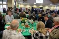 Guests dined family-style and visited during Legends Lunch.