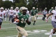 No. 34, Deshawn Jones, scores the first of his three touchdowns.