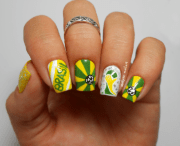 nail art design 2014 fifa