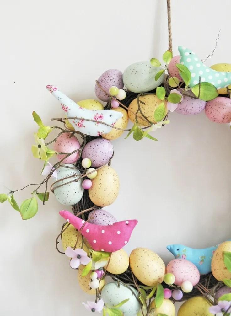 decorazioni per la Pasqua - ghirlanda