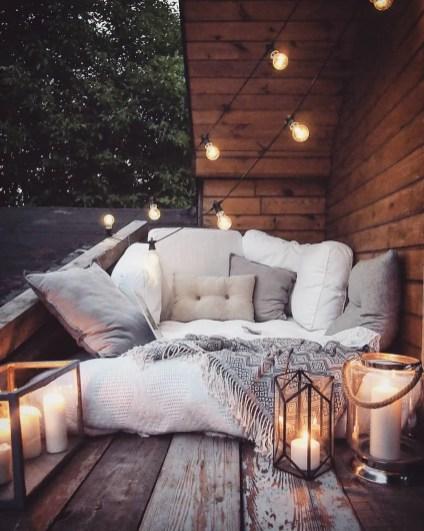 lampadine a incandescenza per illuminare il terrazzo