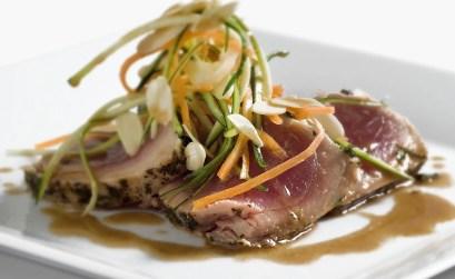 tataki di tonno - ricetta tratta dal ricettario gusto acceso di palazzetti