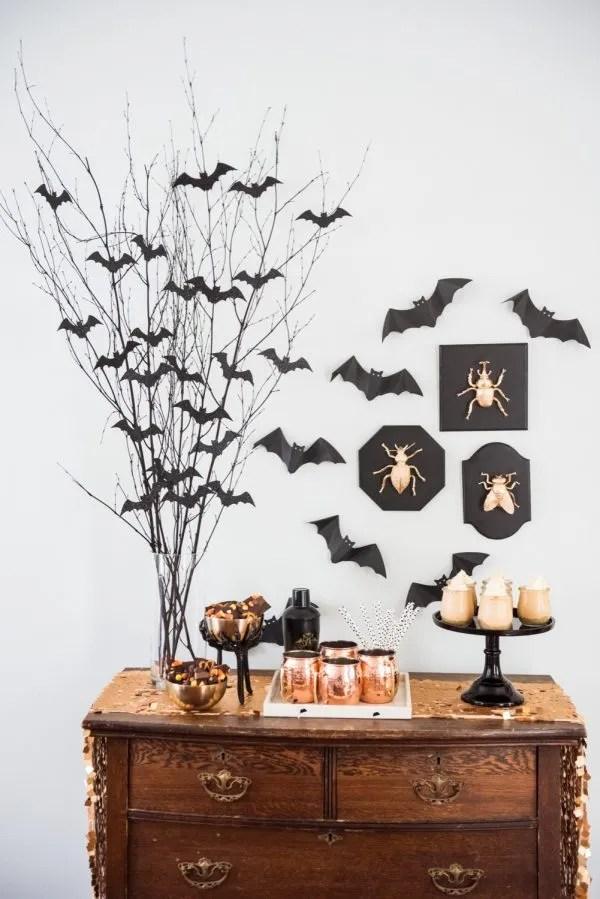 decorazioni per halloween - pipistrelli