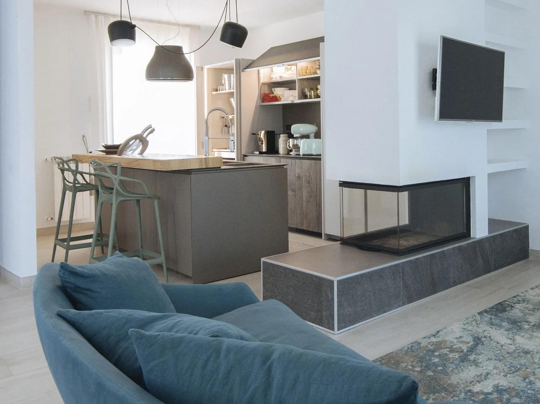 Camino Aperto Su Tre Lati una casa di design in ambiente mediterraneo - palazzetti