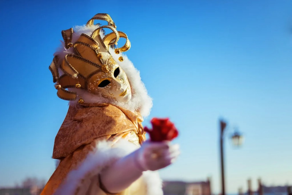 carnevale maschera festa a tema