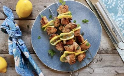 xSpiedini di pollo speziati al limone e miele: la ricetta al barbecue