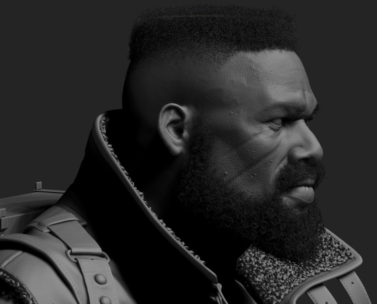 Q1_Barret (FFVII) sculpt.jpg