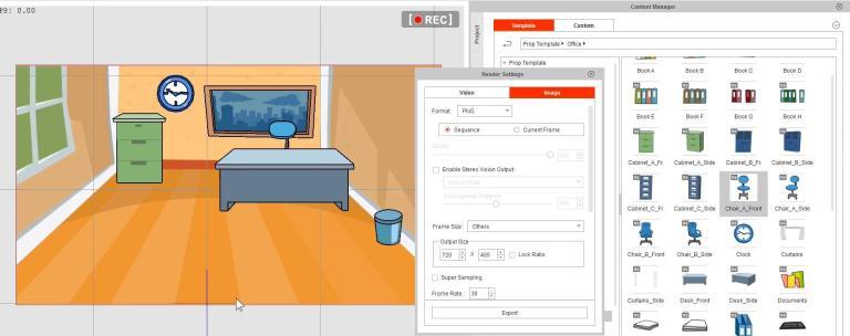 Cách tạo vật dụng dùng trong Game Maker 2 với Crazytalk Animator 3