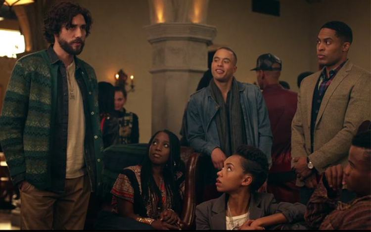 From left to right: Gabe, Joelle, Sam, Troy and Reggie / Copyright Netflix / Dear White People