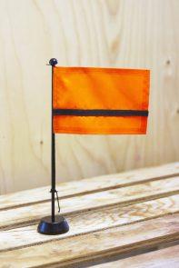 The Mini Refugee Nation Flag - Designer- Yara Said - photo by Eva Porcuna