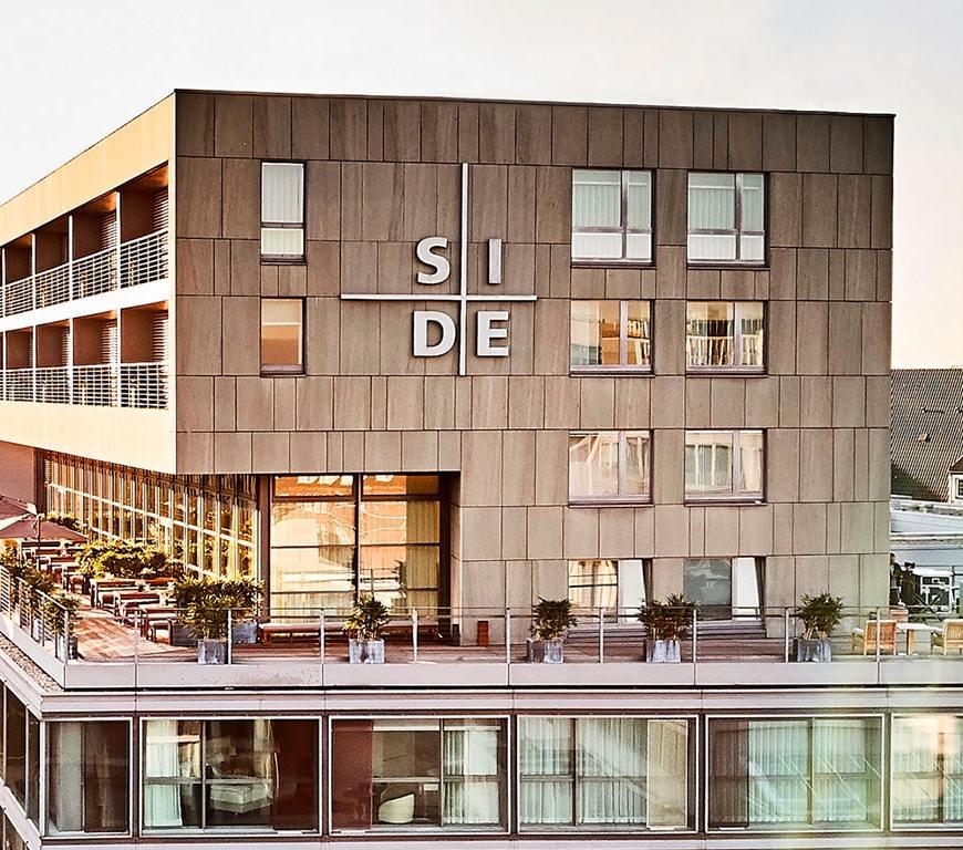 SIDE Hotel Hamburg Banner