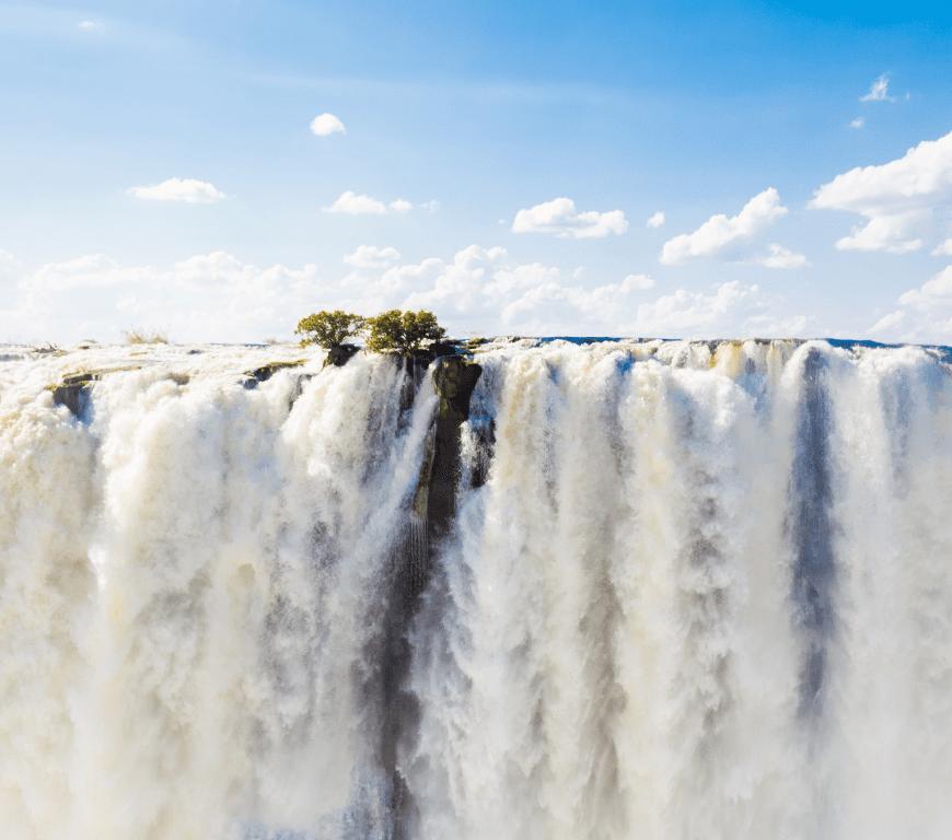 Banner Waterfalls