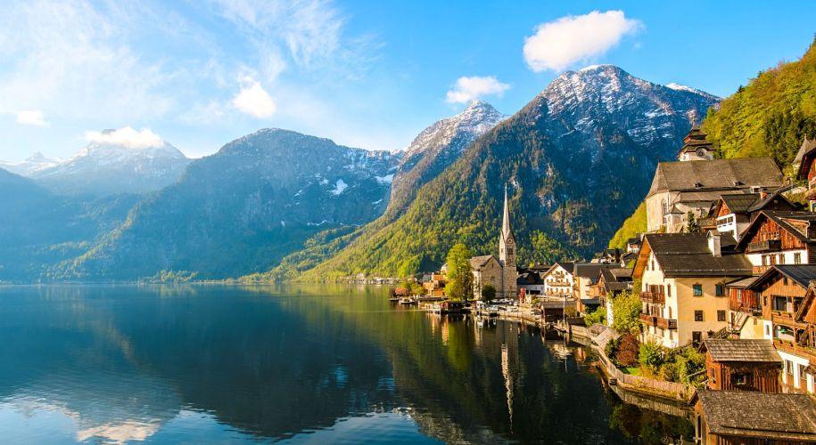 Hallstätter See Banner Bergseen