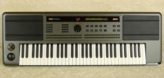 Tastiera WS2 Gem, con lettore Floppy Disk.