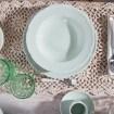 Andrea Fontebasso - Servizio piatti Favola in Verde Salvia