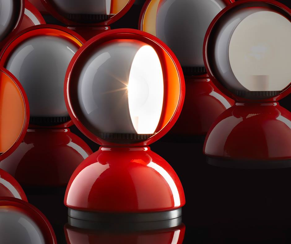 lampada eclisse artemide vico magistretti - stile vintage arredamento