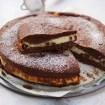 Torta al cacao con ricotta e cioccolato