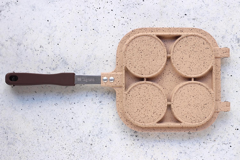 padella mini hamburger di Tognana