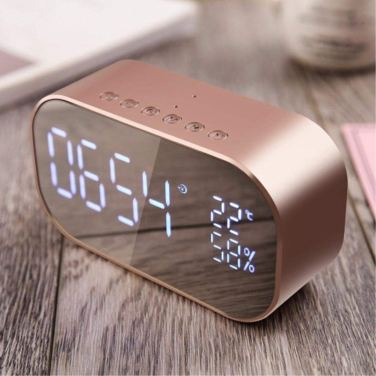 speaker bluetooth rame rose gold